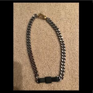 Marc by MarcJacobs All Tied Up Rubberized Necklace